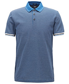 BOSS Men's Slim-Fit Cotton Polo