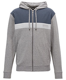BOSS Men's Colorblocked Cotton Hoodie