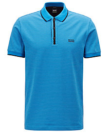 BOSS Men's Regular/Classic-Fit Stretch Polo
