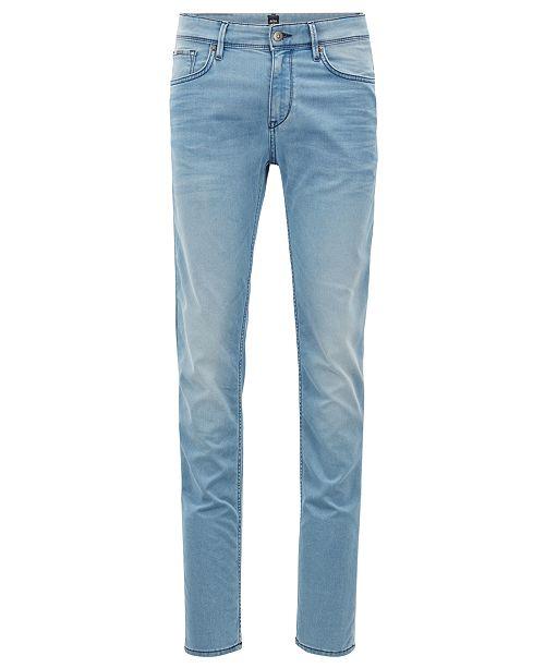 8fe22df98f5 Hugo Boss BOSS Men's Extra-Slim Fit Stretch Denim Jeans - Jeans ...