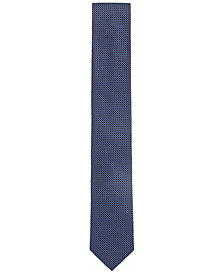 BOSS Men's Patterned Jacquard Silk Tie