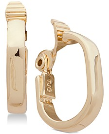 E-Z Comfort Clip-On Small Hoop Earrings
