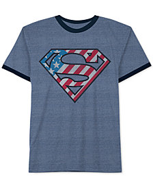 DC Comics Big Boys Superman-Print T-Shirt