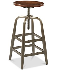 Austan 13.25'' Swivel Stool, Quick Ship