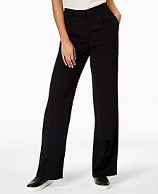 Eileen Fisher Tencel® Crepe Straight-Leg Trousers in Regular & Petite Sizes