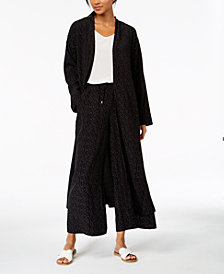 Eileen Fisher The Future Is Female Tencel® Printed Kimono Jacket