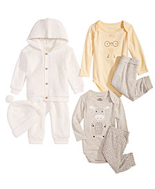 First Impressions Baby Girls or Baby Boys Layette Separates, Created for Macy's