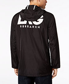 LRG Men's Outclass Hooded Coaches Jacket