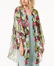 Steve Madden Seriously Tropical Luxe Kimono & Cover-Up