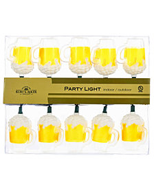 "Kurt Adler 48"" Beer Mug Light Set"