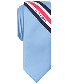 Penguin Men's Love Hurts Panel Skinny Tie