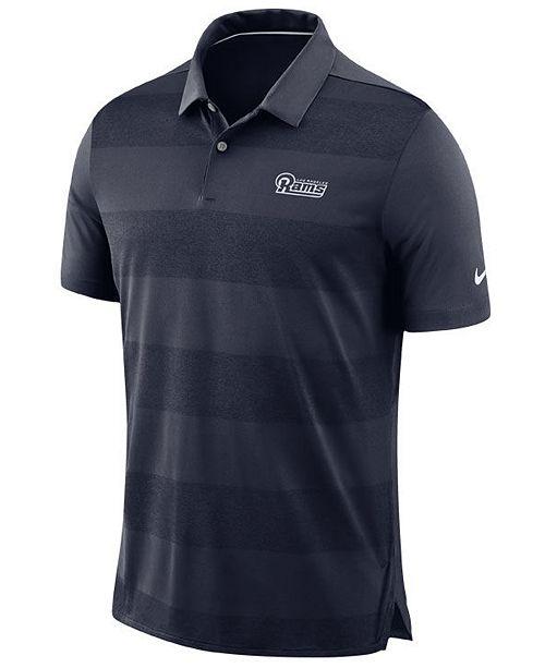 Nike Men s Los Angeles Rams Early Season Polo - Sports Fan Shop By ... a07396d2a