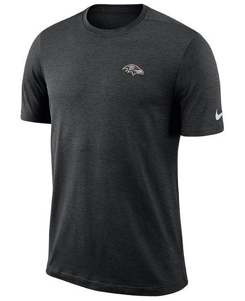 9e1709de Nike Men's Baltimore Ravens Coaches T-Shirt & Reviews - Sports Fan ...