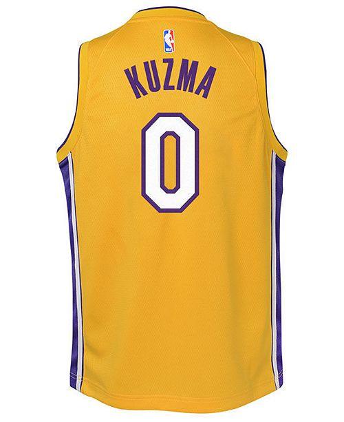 968d9905e45 ... Nike Kyle Kuzma Los Angeles Lakers Icon Swingman Jersey