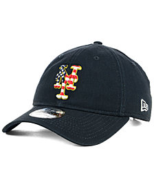 New Era New York Mets Stars and Stripes 9TWENTY Strapback Cap