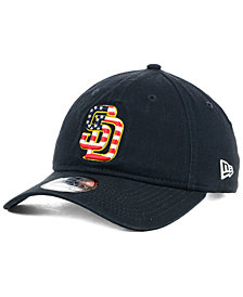 New Era San Diego Padres Stars and Stripes 9TWENTY Strapback Cap
