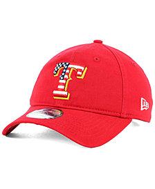 New Era Texas Rangers Stars and Stripes 9TWENTY Strapback Cap