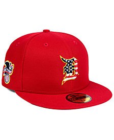 New Era Boys' Detroit Tigers Stars and Stripes 59FIFTY Fitted Cap