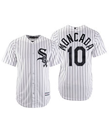 Majestic Men's Yoan Moncada Chicago White Sox Player Replica Cool Base Jersey
