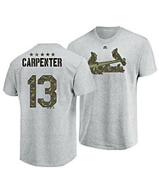 Majestic Men's Chris Carpenter St. Louis Cardinals Camo Player T-Shirt