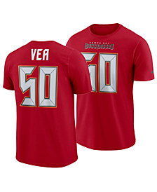 Nike Men's Vita Vea Tampa Bay Buccaneers Pride Name and Number Wordmark T-Shirt