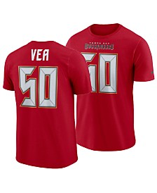 Nike Men's Vita Vea Tampa Bay Buccaneers Pride Name and Number Wordmark T-Shirt