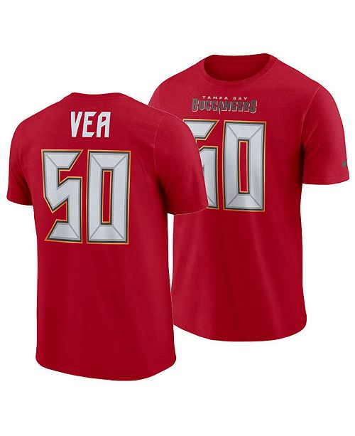 87e398930 ... Nike Men's Vita Vea Tampa Bay Buccaneers Pride Name and Number Wordmark  T-Shirt ...