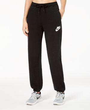 Sportswear Rally Relaxed Fleece Pants in Black