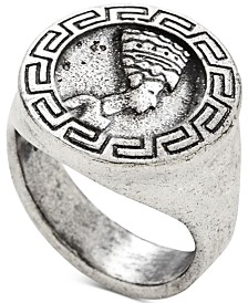 DEGS & SAL Men's Egyptian Ring in Sterling Silver