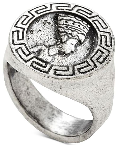 DEGS & SAL Men's Egyptian Ring in Sterling Silver