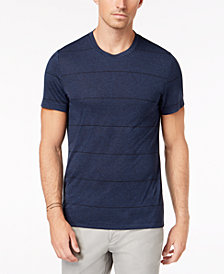 Alfani Men's Premium Stripe T-Shirt, Created for Macy's