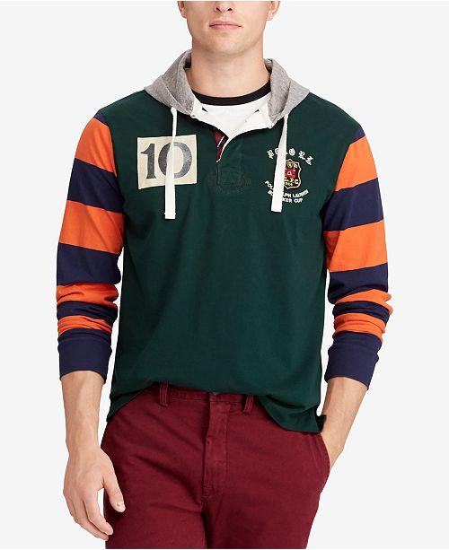 ... Polo Ralph Lauren Men s Big   Tall Classic Fit Cotton Rugby Hoodie ... e0a4fbc6e