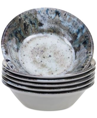 Radiance Cream Melamine All Purpose Bowls, Set of 6