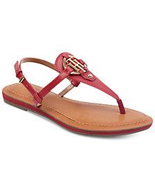 Tommy Hilfiger Genei Slingback Thong Sandals