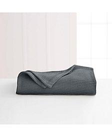 Martex Cotton Diagonal-Weave King Blanket