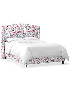 Martha Stewart Collection™ Bedford Collection Vivienne California King Bed, Quick Ship, Created For Macy's