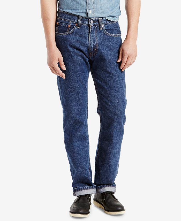 Levi's - 505 Regular-Fit Cash Jeans