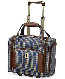 "London Fog Kensington 15"" Wheeled Under-Seat Carry-On Suitcase"
