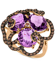 Le Vian® Multi-Gemstone Statement Ring (7-1/2 ct. t.w.) in 14k Rose Gold
