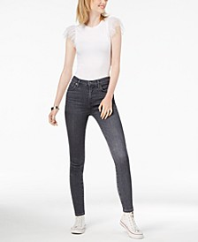 Rocket Cropped High-Rise Skinny Jeans