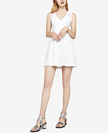 BCBGeneration Mixed-Media Cutout Dress