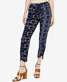 BCBGeneration Patchwork Drawstring Jogger Pants