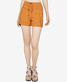 BCBGeneration Patch-Pocket Drawstring Utility Shorts