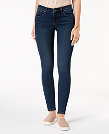 Style & Co Petite Tummy-Control Skinny Jeans, Created for Macy's