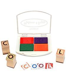 Melissa and  Doug Kids Toys, Kids Alphabet Block Stamp Set