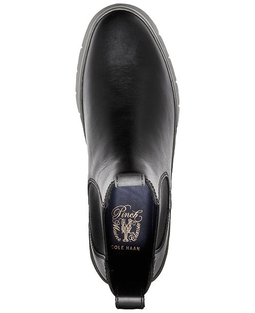 48d6437ac0e Cole Haan Men s Pinch Utility Waterproof Chelsea Boots   Reviews ...