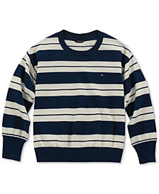 Tommy Hilfiger Big Girls Striped Sweater