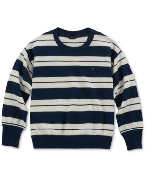 Tommy Hilfiger Big Girls Striped Sweater