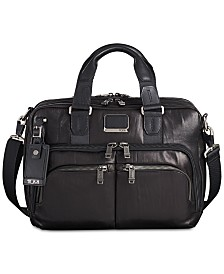 Tumi Men's Alpha Bravo Albany Slim Commuter Briefcase