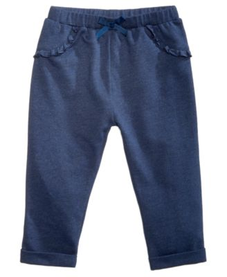 Baby Girls Ruffle Jogger Pants, Created for Macy's